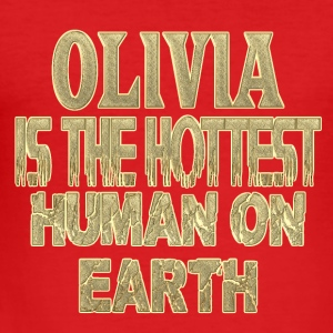 Olivia - Slim Fit T-skjorte for menn