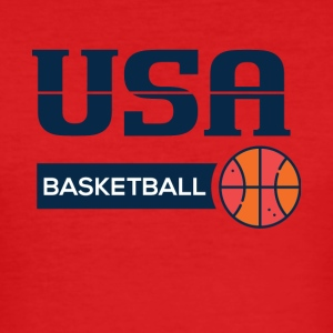 USA Basketball - Herre Slim Fit T-Shirt
