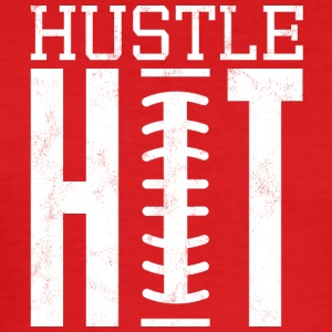 Super Bowl / Football: Hustle Hit - Tee shirt près du corps Homme