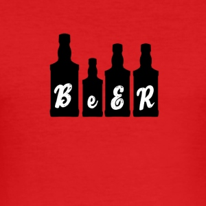 Beer - Beer - Men's Slim Fit T-Shirt
