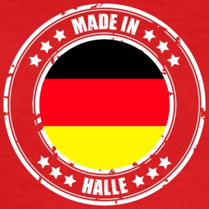 HALLE - Männer Slim Fit T-Shirt