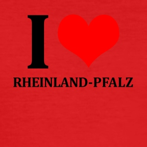 I Love Rhineland-Palatinate - Men's Slim Fit T-Shirt