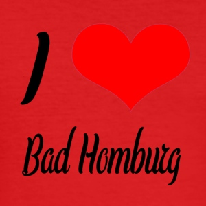 I love Bad Homburg - Männer Slim Fit T-Shirt