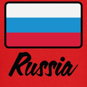 National Flag Of Russia - Herre Slim Fit T-Shirt