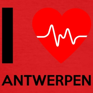 I Love Antwerp - I Love Antwerp - Men's Slim Fit T-Shirt