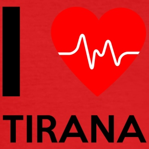 I Love Tirana - I Love Tirana - Men's Slim Fit T-Shirt