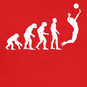 VOLLEYBOLL EVOLUTION! - Slim Fit T-shirt herr