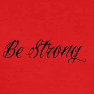 Be_Strong_ - Slim Fit T-shirt herr