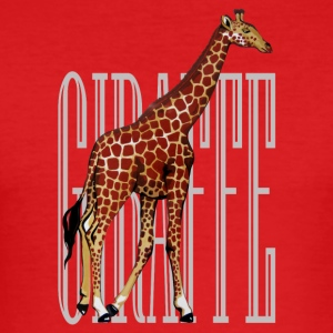 giraff - Slim Fit T-skjorte for menn