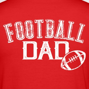 Football Dad - Männer Slim Fit T-Shirt
