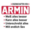 armin - Männer Slim Fit T-Shirt