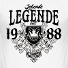 Living legend since 1988 - birthday-birthday - Men's Slim Fit T-Shirt