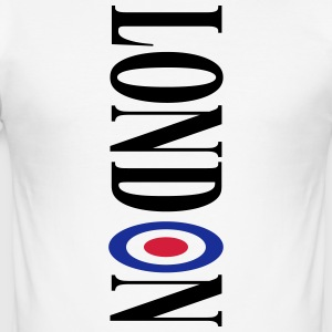 Londen - slim fit T-shirt