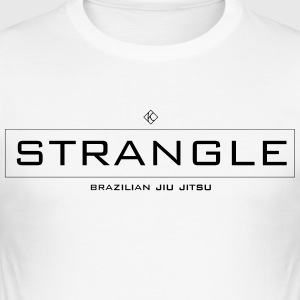 strangle JJB - Tee shirt près du corps Homme