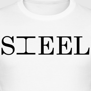 STEEL - Slim Fit T-skjorte for menn
