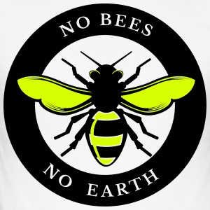 Nee Bees, No Earth - slim fit T-shirt