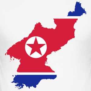 Nordkorea - Herre Slim Fit T-Shirt