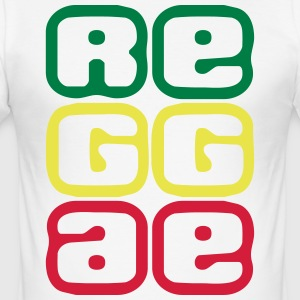 080 reggae - Slim Fit T-skjorte for menn