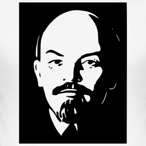 Lenin - Männer Slim Fit T-Shirt