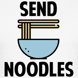 Send Noodles - Men's Slim Fit T-Shirt