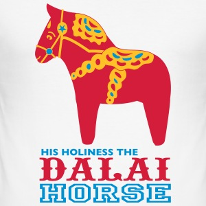 DALAI HORSE - Men's Slim Fit T-Shirt