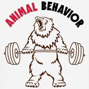 Animal behavior color - Men's Slim Fit T-Shirt