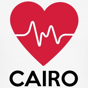heart Cairo - Men's Slim Fit T-Shirt