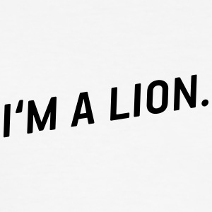 i'm a lion! - Männer Slim Fit T-Shirt