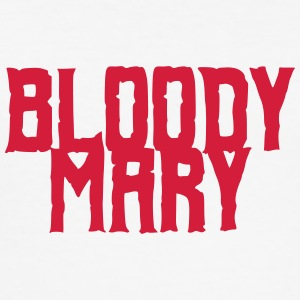 Bloody Mary Horror - Slim Fit T-skjorte for menn