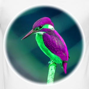 prangende Bird - Slim Fit T-skjorte for menn
