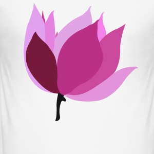lotus - Men's Slim Fit T-Shirt
