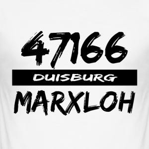 47166 Marxloh - Männer Slim Fit T-Shirt