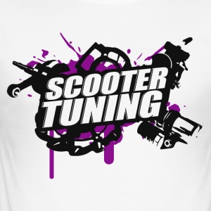 Scooter Tuning - b / p - slim fit T-shirt