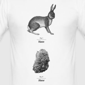 FIG. 1 Hase - Men's Slim Fit T-Shirt