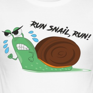Snail - Slim Fit T-skjorte for menn