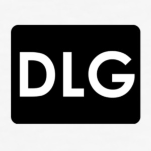 DLG logo - Slim Fit T-skjorte for menn