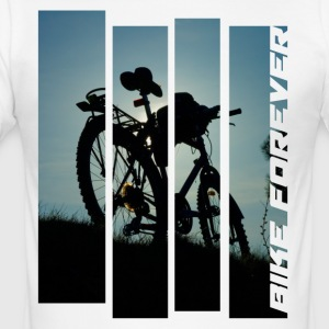 bicycle bike MTB photo tour abendlicht tour - Men's Slim Fit T-Shirt