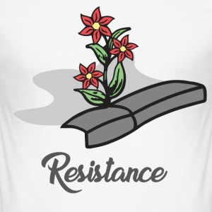resistance - Men's Slim Fit T-Shirt