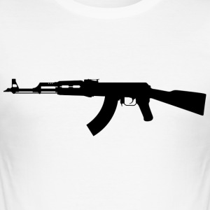 AK 47 - Men's Slim Fit T-Shirt