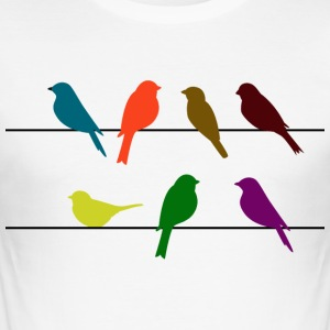 slikt vogels - slim fit T-shirt