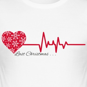 last christmas - Herre Slim Fit T-Shirt