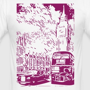 London - Men's Slim Fit T-Shirt