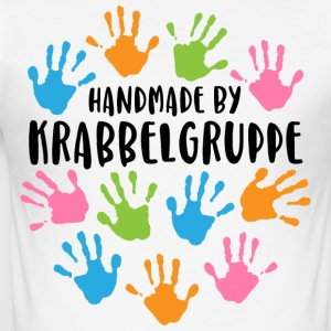 Shirt - Handmade by Krabbelgruppe - Männer Slim Fit T-Shirt