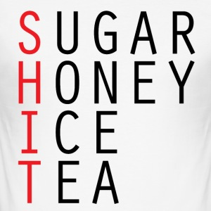 Sukker HONEY ICE TEA T-skjorte - Slim Fit T-skjorte for menn