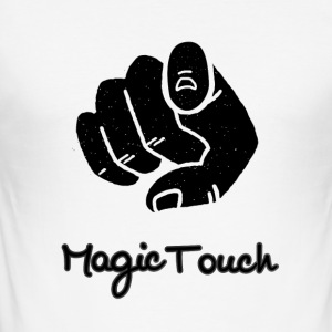 magic touch - Männer Slim Fit T-Shirt