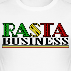 Rasta Business - Slim Fit T-shirt herr