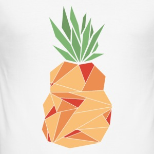 ananas - Tee shirt près du corps Homme