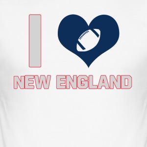 I love New England - Men's Slim Fit T-Shirt