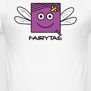 Fairy 'FAIRYTAE' Princess | Qbik Design Serie - Männer Slim Fit T-Shirt