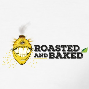 ROASTED AND BAKED LEMON - Men's Slim Fit T-Shirt